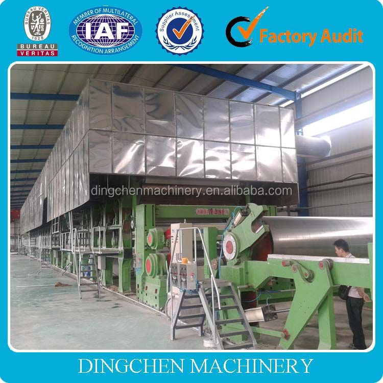 1092mm double-dryer can and double cylinder mould office A4 copy paper making machine