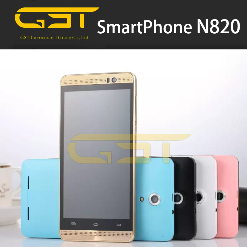 3G Smartphone 1.2GHz MTK6572 Dual Core cheap 5inch Mobile Phone N820