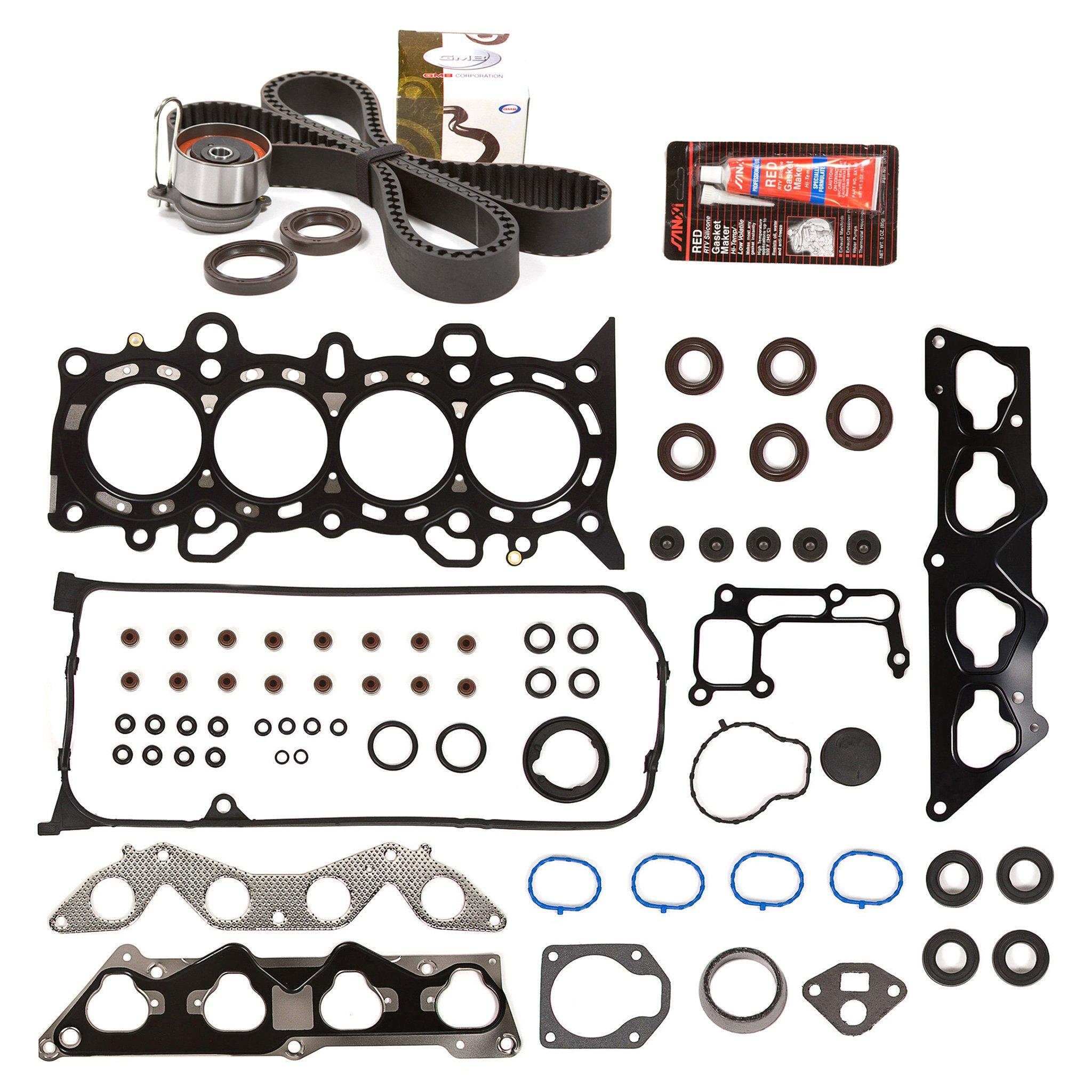 Get Quotations · Evergreen HSTBK4034 Head Gasket Set Timing Belt Kit 01 05 Honda  Civic 1.7 D17A2 D17A6