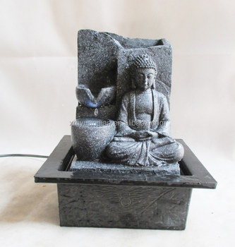 Indoor Buddha Table Water Fountain Design
