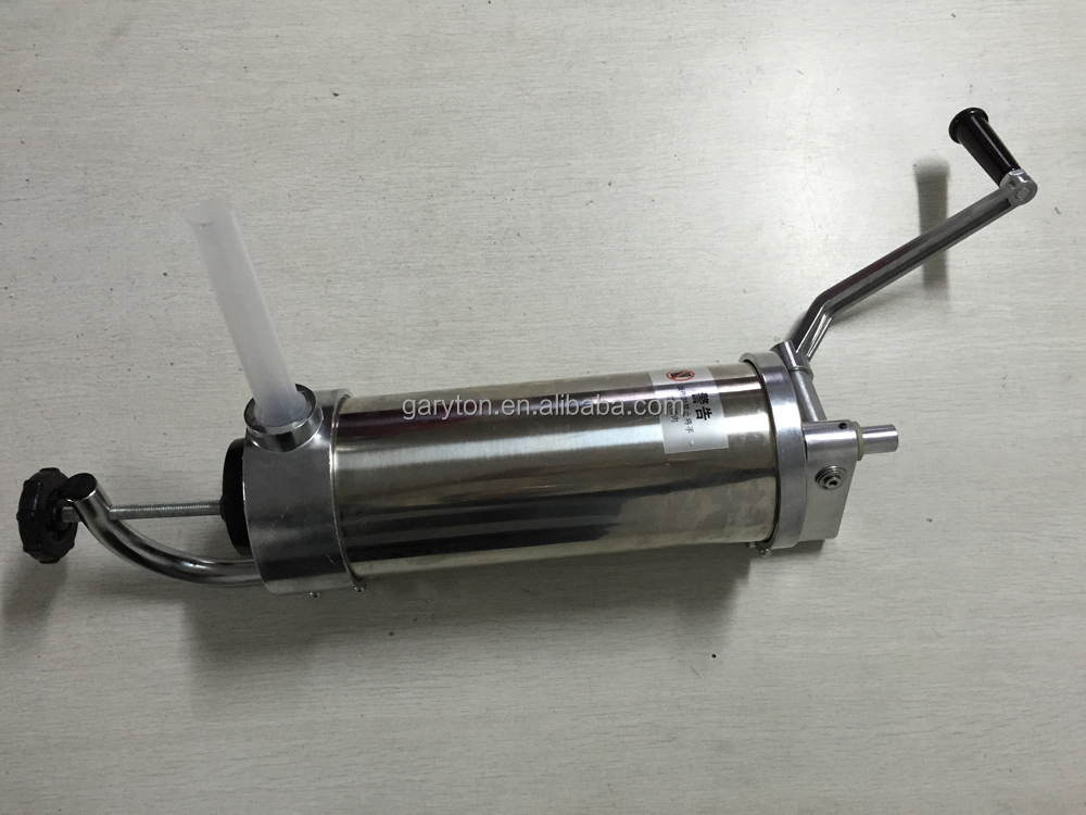 GRT-3L NEW manual ham stuffer, hand sausage filler