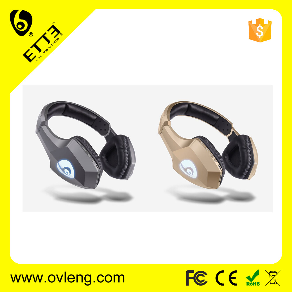 ETTE S33 Wireless Bluetooth Gaming Headset for PS3