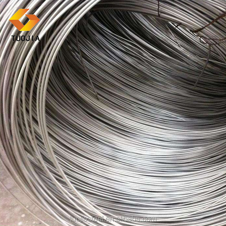 SAE1008, Steel Wire Rod, normal carbon steel drawing wire manufactured in China