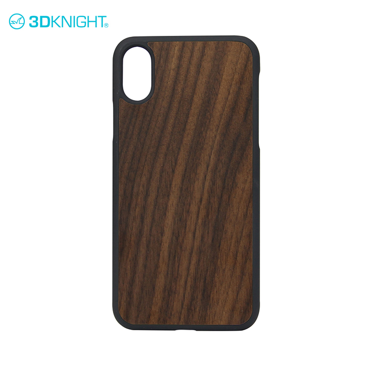 Best praise mobile-phone case for iphone X shock proof case natural wood for cell