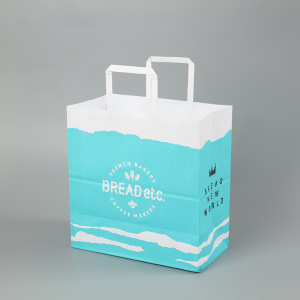 Manufacturer low cost shop craft paper bag for packaging