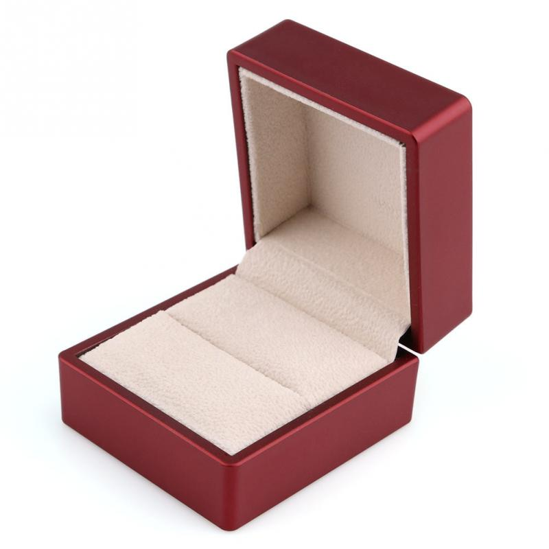 New Fashion Luxury Ring Box Solid Cherry Polish With Led Light  sc 1 st  Rings Review 2017 & Jewelry Ring Box China Whole Factory Paper Ring Display Box ... Aboutintivar.Com