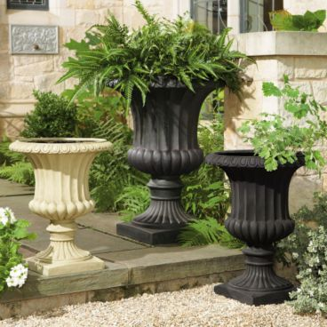 Cast Iron Black Urn Planter Chinese Manufacture Made Cast Iron Planters And  Urns