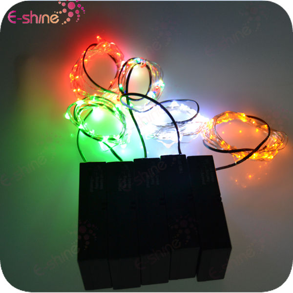 3M 30 LED Battery Operated Micro Light Fairy String and Timer