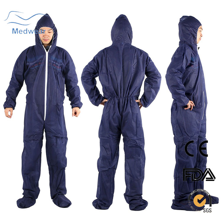 Hot Sale Cheap Safety Products Health Care Uniform Disposable Coveralls