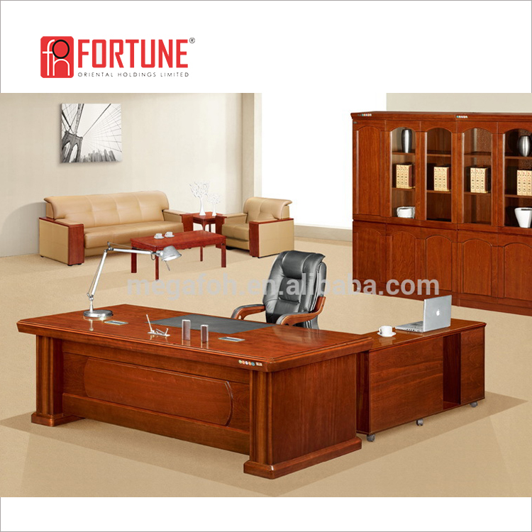Left Return Mahogany Executive Home Office Desk Furniture(foh K2250)   Buy Home  Office Desk Furniture,Office Furniture Tables,Mesa De La Oficina Ejecutiva  ...