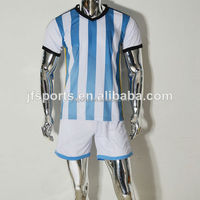 Thai Quality Soccer Jersey Youth Football Jerseys Set Cheap Team Soccer Uniform For Kids