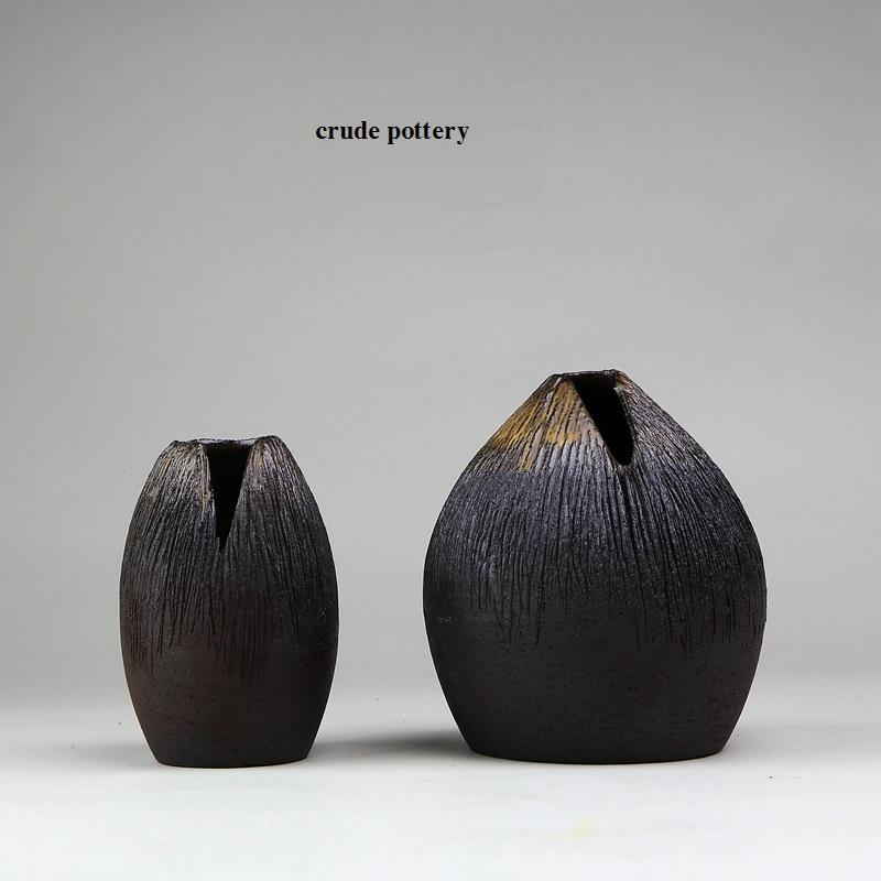 0 <font><b>italian</b></font> pottery tableware Vintage handmade ceramic zen vases flower receptacle tea furnishing articles