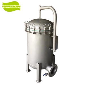 4 Bag Filter Housing Stainless Steel Industry Coarse Water Filter Price Swimming Pool Filter