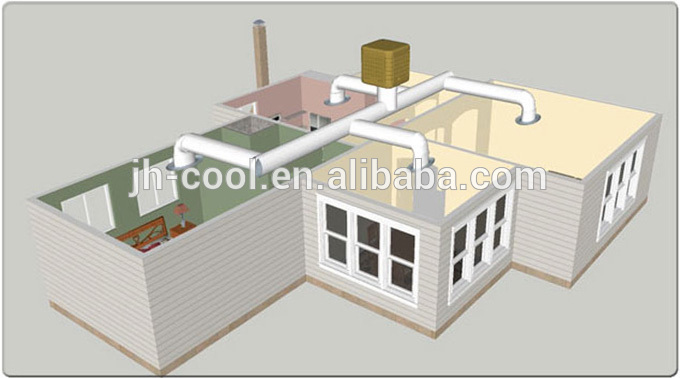 server room precision air conditioner with water evaporator evaporative air cooler - Evaporative Air Cooler