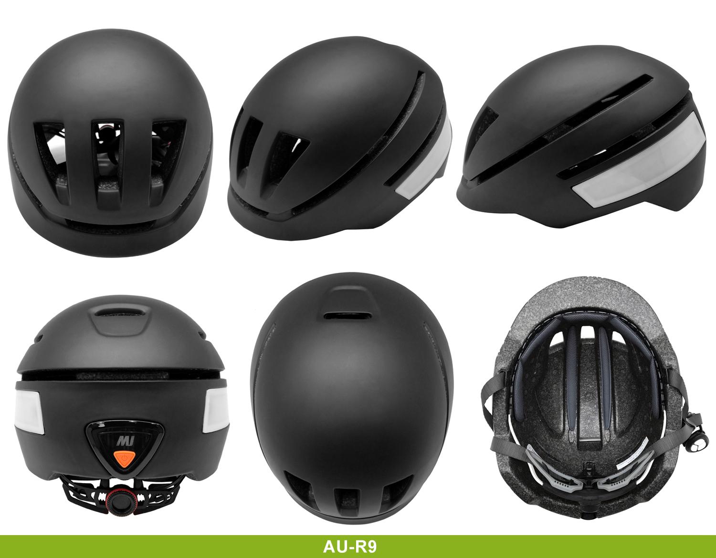 2019 newest LED electric urban bike helmets 9