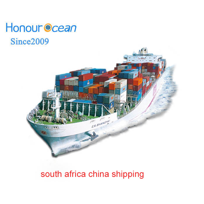 shipping container from china to south africa