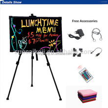 low price 70*50cm led writing board for supermarket /shop