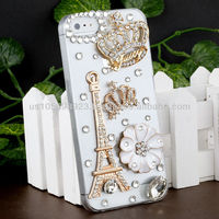 Handmake Diamond Rose Phone case for Iphone 5/5s