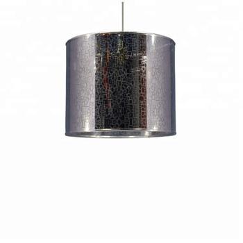 Emaille Zilveren Ronde Witte Metalen Frame Fixures Verlichting