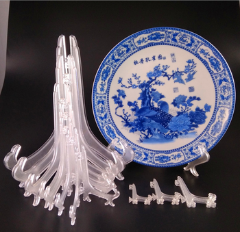 4-24cm Height Dish Holder Plastic Plate Display Stand For Sell - Buy ...