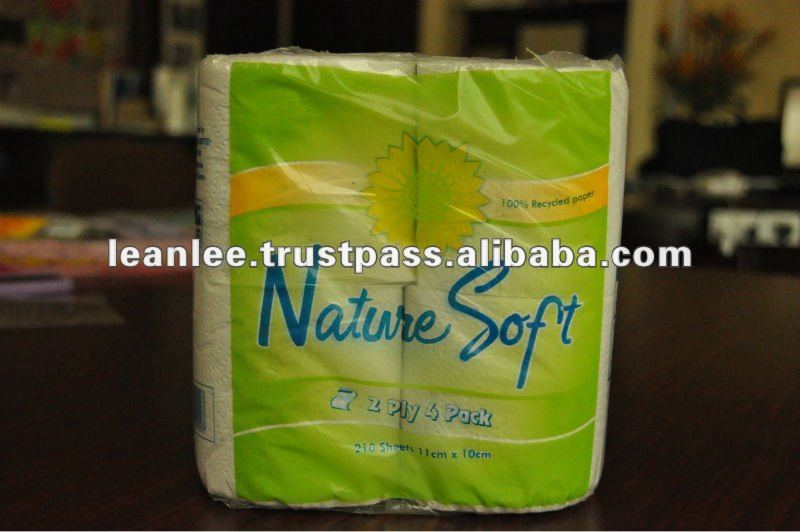 Color Toilet Paper Roll Plastic Packaging Bags