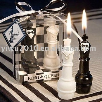 King Queen Chess Piece Candle Wedding Favors Buy Wedding Favors