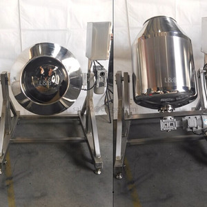350L stainless steel rotary drum mixer for powder spices
