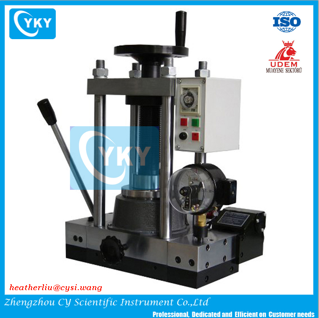 With Electric Hydraulic Pump Vaccum Tube Furnace With Hot Press/lab  Hydraulic Press With Vacuum And Sintering - Buy Hydraulic Press Small For  Lab,With