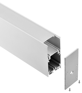 full series milky cover extruded aluminum profiles for kitchen