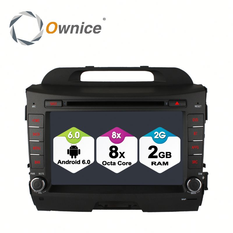 Octa core Android 6.0 Ownice C500 navigation car GPS for Kia Sportage R support OBD DAB TPMS Built in 4G LTE