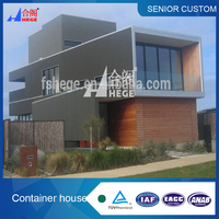 movable container house with grass in 2014