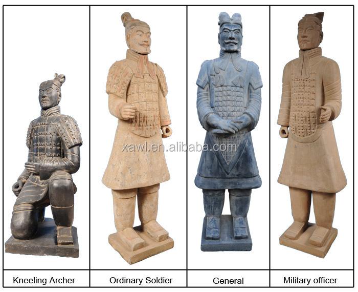 190CM Chinese Antique Terracotta Warrior Garden Statue YGF190 1