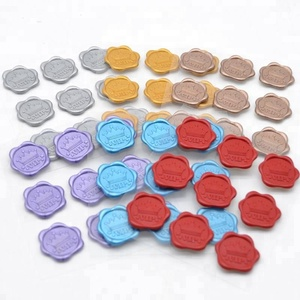 seal wax and stamps/premade plastic wax seals