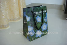 China fancy apparel packing paper bags supplier
