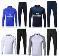 cheap wholesale top thailand quality 2017/2018 training wear sports soccer tracksuit