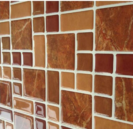 vinyl peel and stick tile mosaic peel and stick tile kitchen self adhesive wall tiles