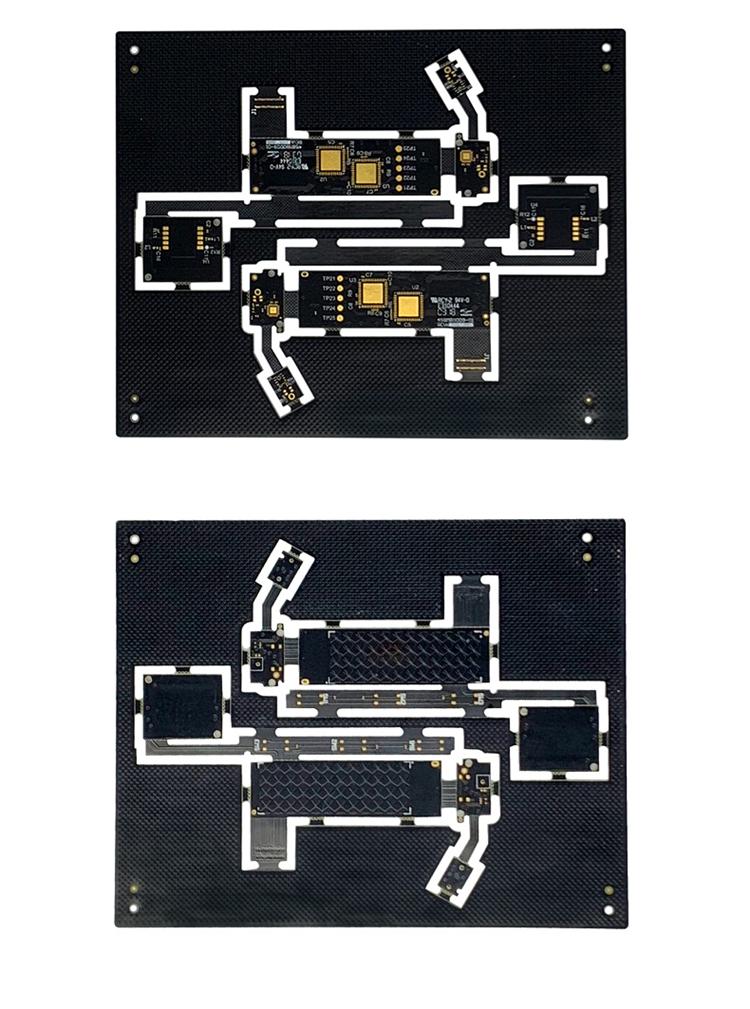 World best selling products black solder mask 1.6mm 6L pcb board