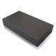 Black Multifunction PU Leather Storage Pen Box Pencil Case
