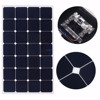 Semi flexible 90 Watt Solar Panel 15.2V High Efficiency Class-A Sunpower Solar Cell 100W; Monocrystalline Solar Panels