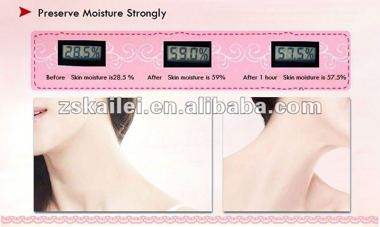 Smoothing Fine Lines Hydrogel Crystal Collagen Anti Wrinkle Decollete Chest Pad