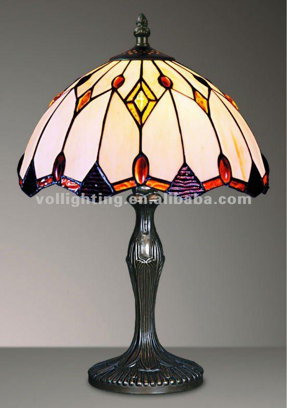 lamparas de cristal de colores