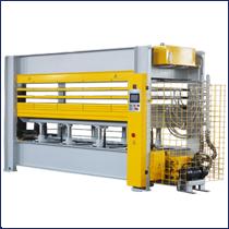 Otomatik Hidrolik Kaplama Laminat Ahşap Kapı Ağaç İşleme Soğuk Pres Makinesi