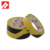 Yellow Black Color Rubber Adhesive Vinyl 3M Floor Marking Tape 471