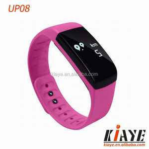 English version Touch Screen Smart Bracelet UP08 APP FlagFit With Heart Rate Monitor desirable band A variety of colors