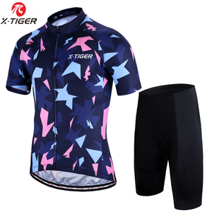 05c734973 X-Tiger Pro Cycling Jersey Set MTB Bicycle Cycling Clothing Breathable Bike  Clothes Maillot Roupas Ciclismo Cycling Set For Mans