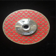 fast and sharp electroplated stone cutting disc 115mm granite cutting blade