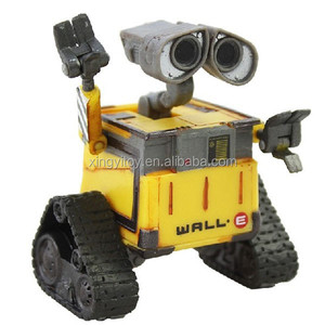 New Children's Great PIXAR THINKWAY Toy Wall-E Figure Toys Robot 6cm WALL.E Toy Action figure