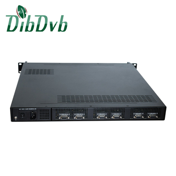 highly flexible solution for CVBS to DVB-T RF Modulator with 128 IP input