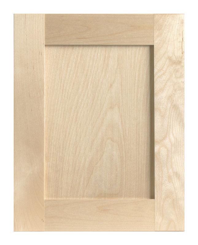 sin terminar el panel levantado puertas de gabinete de madera maciza ...