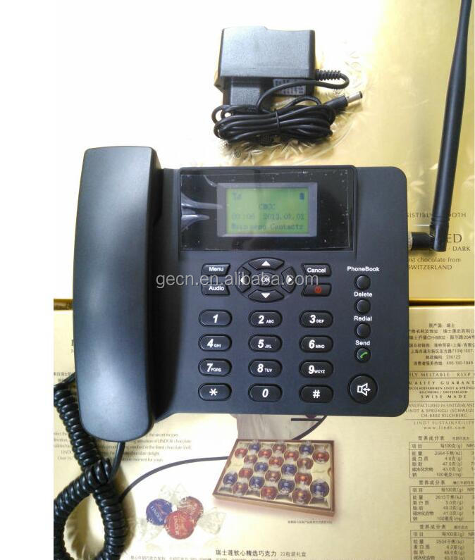 GSM Dual-SIM Fixed Wireless Phone